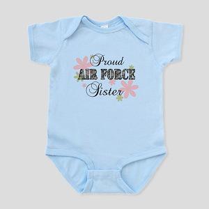 Air Force Sister [fl camo] Infant Bodysuit